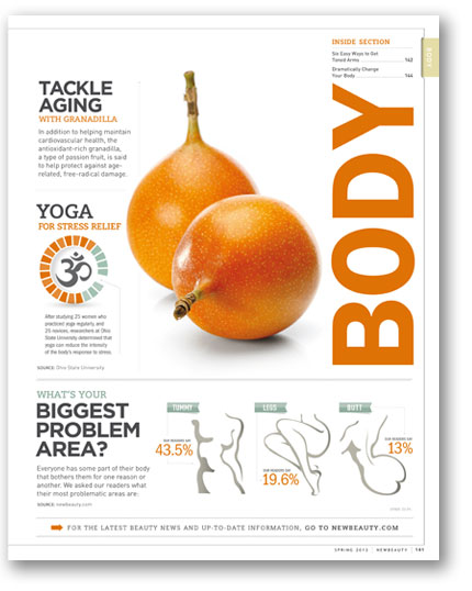 icon and infographic design for fitness article